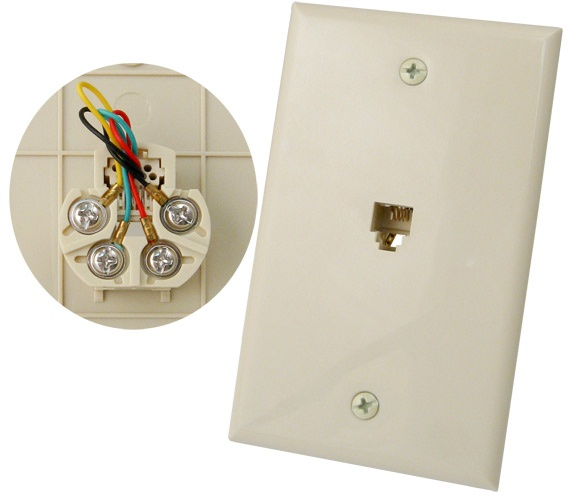 RJ11 connector for Cat 3 wi-fi solution